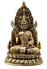 Meditating Buddha Sitting Statue Peace Tranquility Zen Home Decor