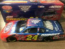 JEFF GORDON 2001 DUPONT BRICKYARD 400 RACED WIN 1/24 ACTION DIECAST CAR RARE