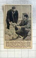 1961 Westwood Tv Announcer Roger Shaw Planting Bulbs With Mr B Camfield