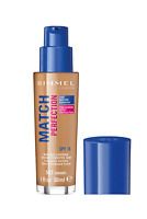 Rimmel London Match Perfection Foundation SPF15 30ml 502 CARAMEL- Fast Delivery