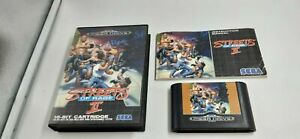 Jeu Sega Megadrive Mega Drive Streets of Rage 2 complet