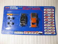 Isuzu Bellett 1600GTR Orange Dydo 1:64 Scale Diecast Model Car Kit Tokudaiji