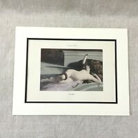 1898 Antique French Print Nude Girl Erotica Painting Flaubert Novel Richard Putz