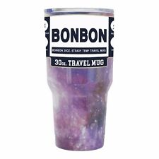 BonBon 30 Ounce Tumbler Stainless Steel Cup with Lid (GALAXY)