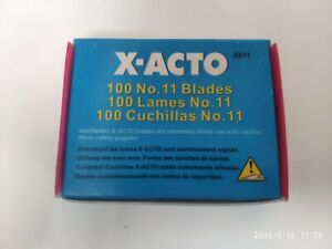 X-acto blades x 100 craft hobby knife