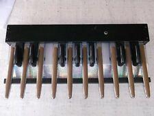 Midi Bass Pedal mit 17 Tasten für Orgel, Synthesizer und Expander