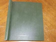More details for (5668) early australia collection m & u in the crown stamp album
