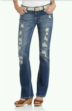 NWT Sexy Bootcut Jeans Low/Mid-Rise Distressed - Juniors Sz. 9