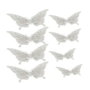 72pcs 3DButterfly Wall Decal Hollow-Out Butterflies Wall Sticker for Living Room