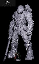 More details for doom slayer resin figure - 28cm tall - printed obsession