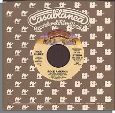 "Nick Gilder - Rock America (Mono/Stereo) - 1980 Promo 7"" 45 RPM Single!"