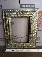 "Vintage Victorian Gold Gesso  Picture Frame Fits 10"" by 14"""