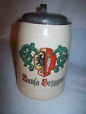 Alter Bierkrug  Hansa Bryggeri 10 /20 L. Bergen Norwegen