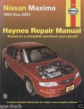 Nissan Maxima, 1993-2001, Haynes Repair Manual
