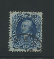 1861 United States Postage Stamp #72 Used F/VF Certified