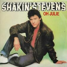"SHAKIN' STEVENS 7""PS Spain 1982 Oh Julie PROMO"