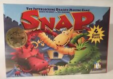 Snap The Interlocking Dragon Making Game Kids Strategy Gamewright 6+ New Sealed