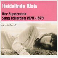HEIDELINDE WEIS ~ Der Supermann ~ Songs 1975-1979 ~ RARE 2008 EU 20-track CD~NEW