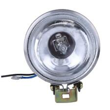 12V 55W LED DRL Round Car Fog Lamp Driving Daytime Running Light Bright White