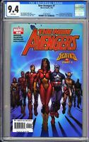 New Avengers #7 CGC 9.4 White Pages 2005 3724519013 1st Appearance of Illuminati