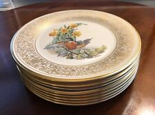 "Lenox Annual Limited Edition Boehm Birds 8-10 1/2"" Plates 1970-1977 Signed"
