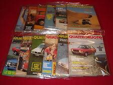 QUATTRORUOTE - Anno 1974 completo - QS/EDICOLA