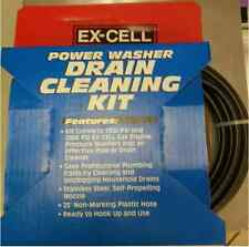 Pressure Washer Drain Cleaning Kit NEW - FREE SHIPPING