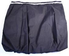 WESC  Black Bubble Mini Skirt NWT Size S