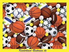 Ravensburger puzzle * 200 t * Sport pelotas * Fútbol baloncesto voleibol * rareza * OVP