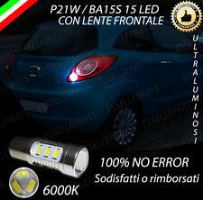 LAMPADA RETROMARCIA 15 LED P21W BA15S CANBUS FORD KA II NO ERROR