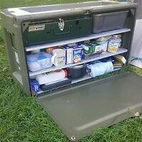 Fully Refurbished Genuine British Army Issue Laycorn Storage Box .
