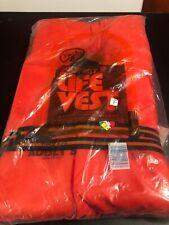 Kent Universal USCG Approved Adult Type II Orange Life Jacket Vest PFD