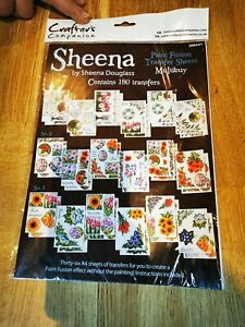 Sheena Douglass paint fusion transfer sheet multi buy 180 transfers NEW