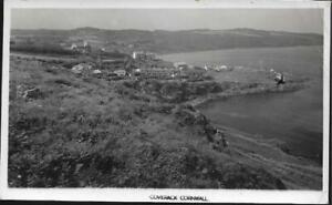 Coverack, Cornwall - real photo postcard, local pmk 1951