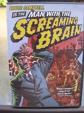 BRUCE CAMPBELL IS THE MAN WITH THE SCREAMING BRAIN DVD