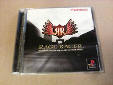 Videogame RAGE RACER NTSC-J Playstation 1 PSX PS1 PSONE NEW