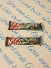 2 x Kitkat Chunky More Protein Raspberries & Hazelnuts 42g