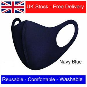 Mask Face Washable Reusable Breathable UK Adult Unisex FAST FREE SHIPPING