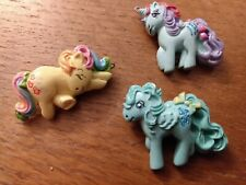 Vintage Broche French Pin My Little Pony Poney TRICKLES SPARKLER MEDLEY goodies