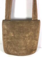 Coach Bonnie Cashin for Meyers Vintage Brown Suede Flap Shoulder Bag-Rare