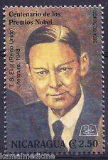 Nicaragua MNH, T. S. Ellot, USA, Nobel in Literature  -  K15