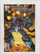 Transformers Heart Of Darkness #2 MB + 8.5 IDW Comics 2011 Decepticons, Megatron