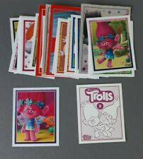 Not Panini Topps Trolls Stickers Choose From Long List