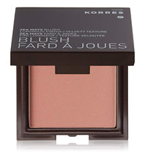 KORRES NEW IN BOX ZEA MAYS BLUSH IN SHADE 16 PINK/ROSE, FULL SIZE 0.24 OZ. / 7 G