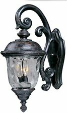 Maxim Lighting 3497WGOB Carriage House DC-Outdoor Wall Mount 3-Light Lantern