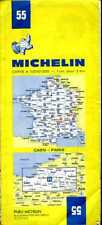 Carte Michelin 55 - Paris Caen