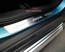 Door sill scuff plate Guards For Mitsubishi ASX 2010 2011 2012 2013 2014 2015