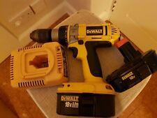 DeWALT DW988 18v Combi XRP Hammer Drill + 2 Batteries + Charger
