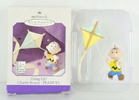 1998 Hallmark Keepsake Ornament ~ Going Up? ~ Charlie Brown  Kite Peanuts Gift