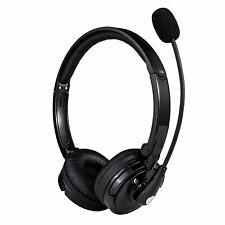 Noise Cancelling Headphone Wireless Bluetooth Headset With Boom Mic for Trucker